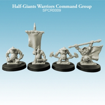 Half-Giant Warriors Command Group
