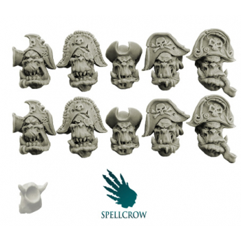 Freebooters Orcs Heads (ver. 1)