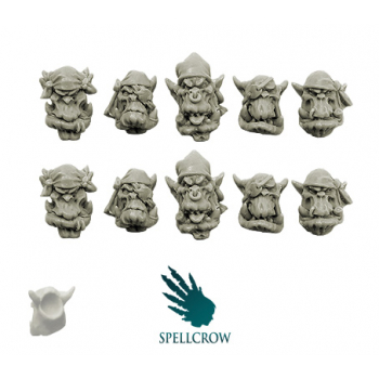 Freebooters Orcs Heads (ver. 2)