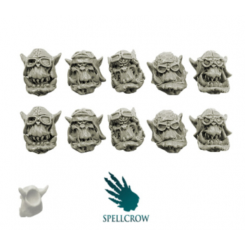 Orcs Storm Flying Squadron Heads (ver. 1)