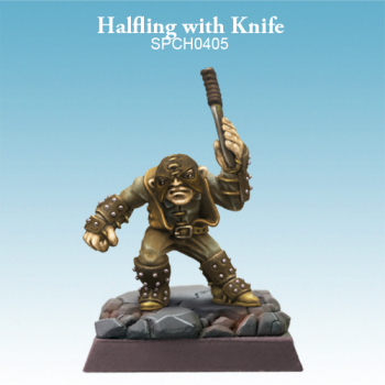 Halfling with Knife