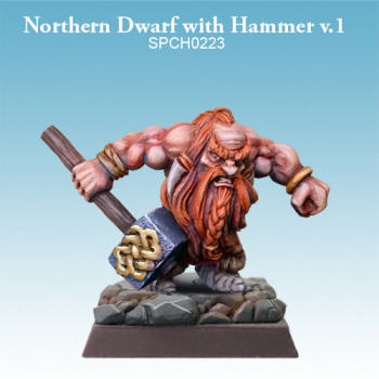 Northern Dwarf with Hammer v.1