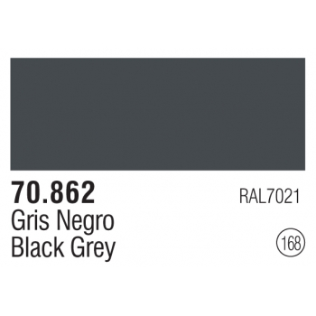168 Black Grey - Vallejo Model Color