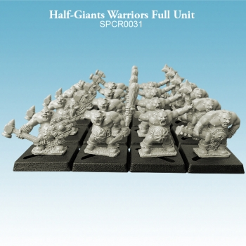 Half-Giant Warriors Full Unit