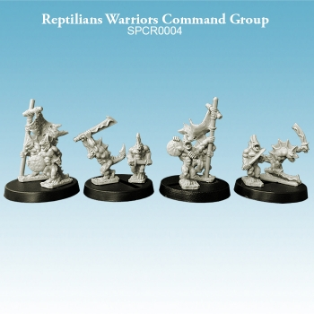 Reptilians Warriors Command Group
