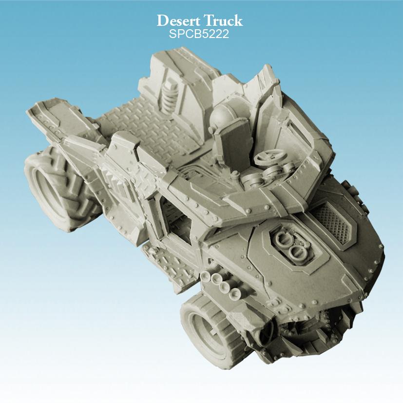 Spellcrow Desert Truck