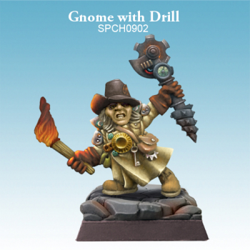 Gnome with Drill - (G) (L)