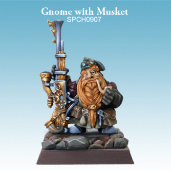 Gnome with Musket
